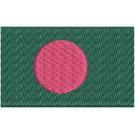 Flagge Bangladesch midi