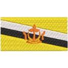 Flagge Burnei midi