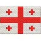 Flagge Georgien midi