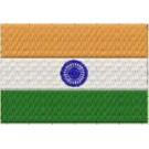 Flagge Indien midi