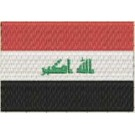Flagge Irak midi