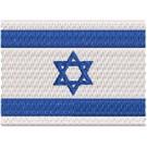Flagge Israel midi
