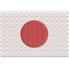 Flagge Japan midi