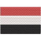 Flagge Jemen midi