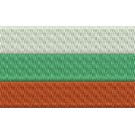 Flagge Bulgarien midi