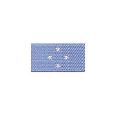 Flagge Fed. States Mikronesien midi