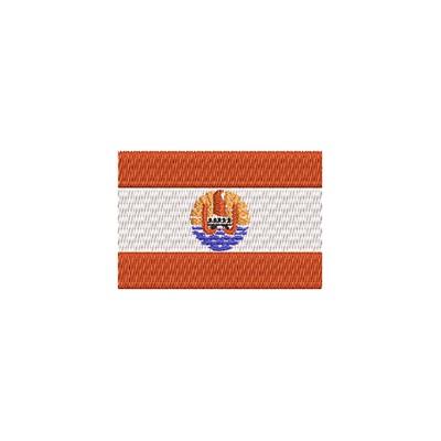 Flagge Franz. Polynesien midi