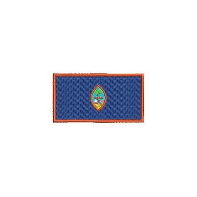 Flagge Guam midi