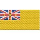 Flagge Niue midi