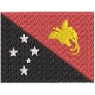 Flagge Papua Neuguinea midi