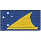 Flagge Tokelau midi