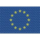 Flagge Europa midi