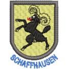 Wappen Schaffhausen mit Name
