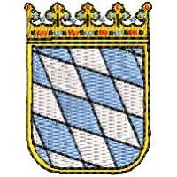 Wappen Bayern mini