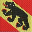 Flagge Bern midi