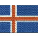 Flagge Island midi