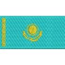 Flagge Kasakhstan midi