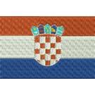 Flagge Kroatien midi