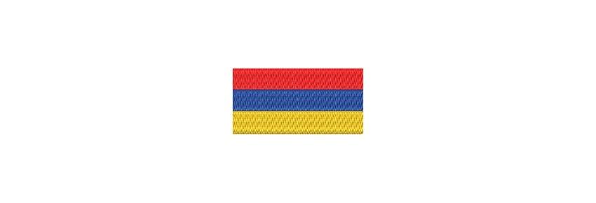 Flaggen Asien (midi)