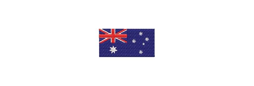 Flaggen Ozeanien (midi)