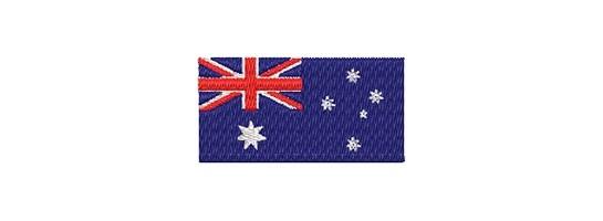 Flaggen Ozeanien midi
